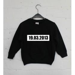 Geboortedatum Sweater