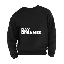 Sweater Daydreamer adults zwart