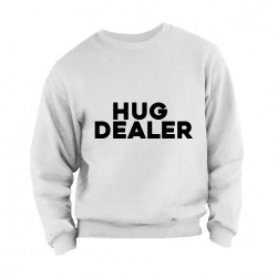 Sweater Hug Dealer adults grijs