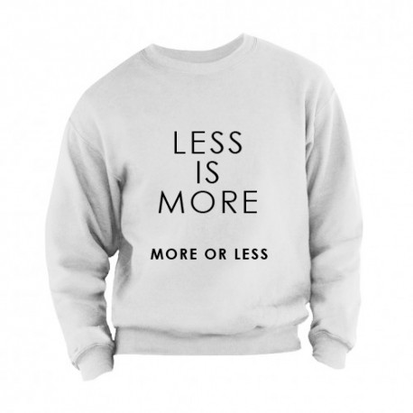 Sweater less is more adults