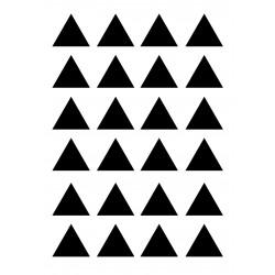 Muursticker driehoekjes