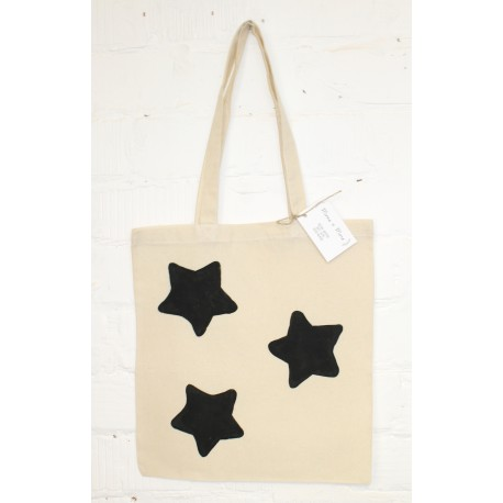 Tote bag met sterrenprint