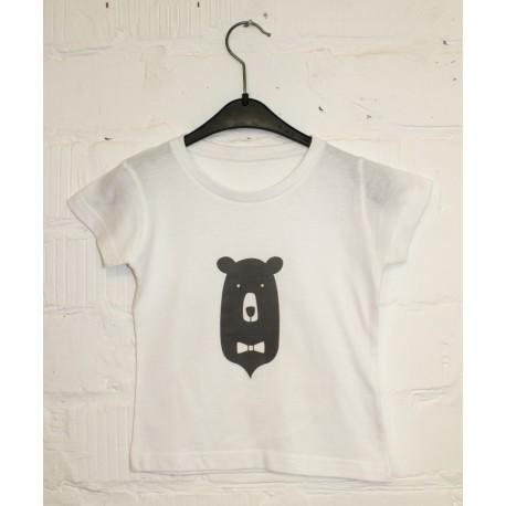 T-shirt bowtie bear