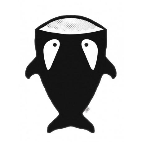Slaapzak orka zwart