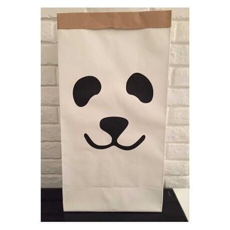 PRE-ORDER Papieren opbergzak panda